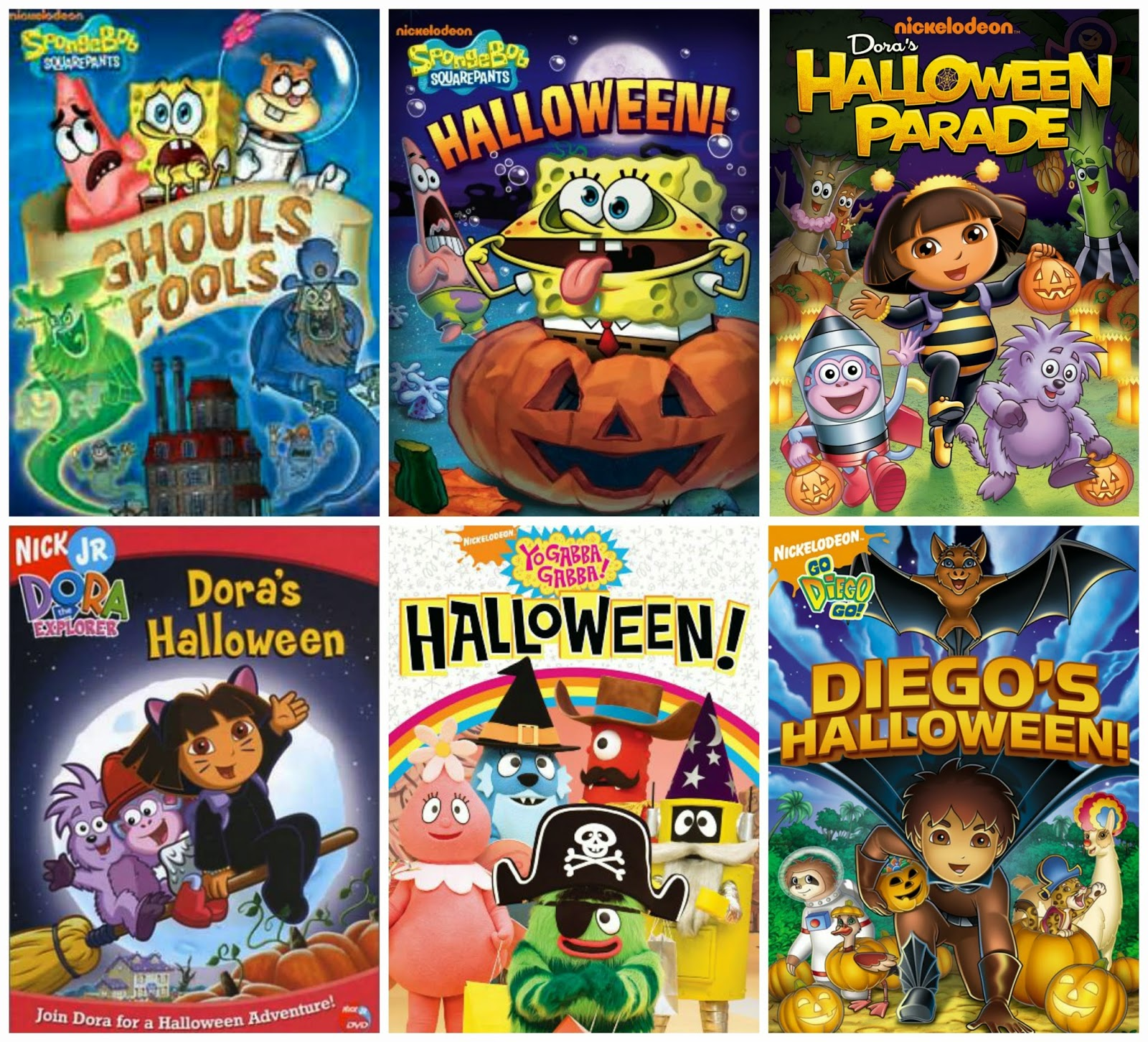 stacy tilton reviews: nickelodeon halloween dvd roundup #giveaway