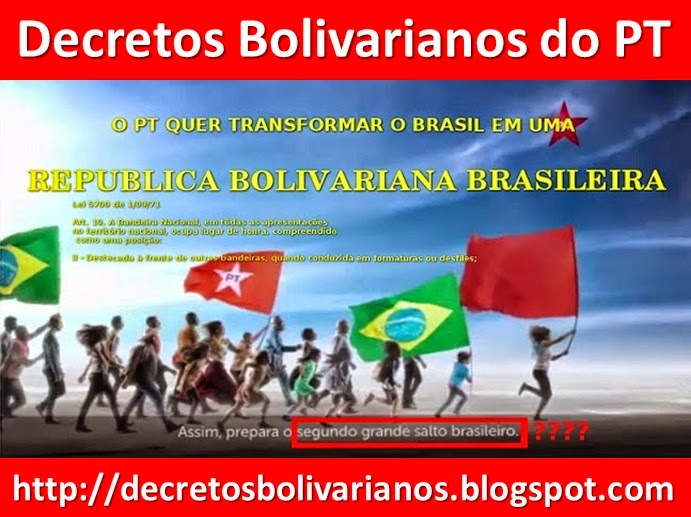 DECRETOS BOLIVARIANOS DO PT