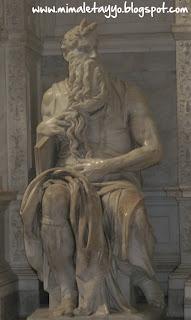 El Moisés de Miguel Ángel en Roma