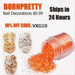 Born Pretty Store скидка -10% по коду VXG10