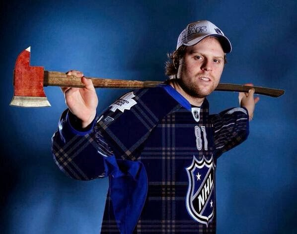 Where there\'s Smoke, there\'s fire.: Phil Kessel, Lumberjack