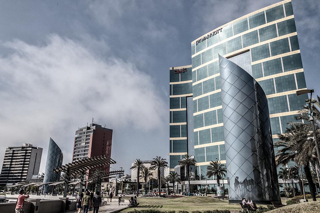 Centro comercial Larcomar Miraflores