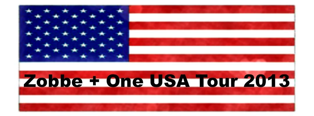 Zobbe + One USA Tour 2013