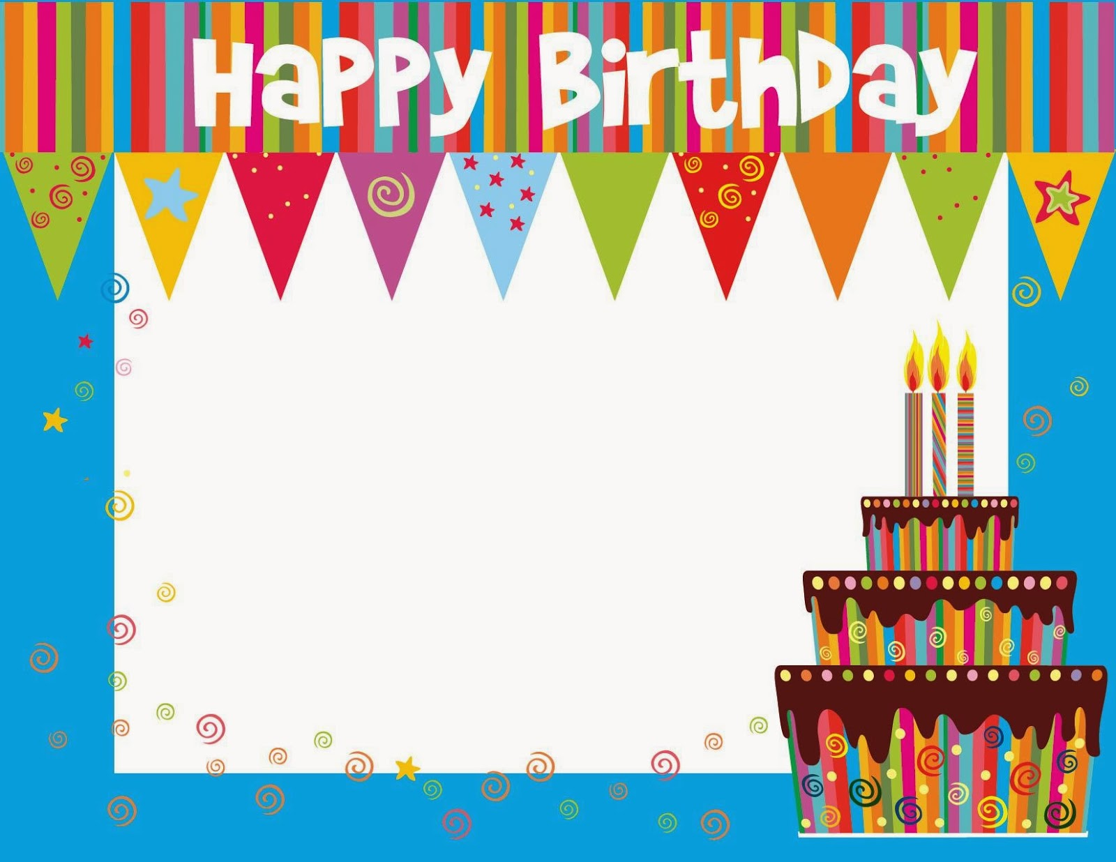 Simple Birthday Cards Printable ~ Printable birthday cards september