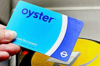 to get an Oyster Card ...