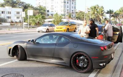 Justin Bieber's Car