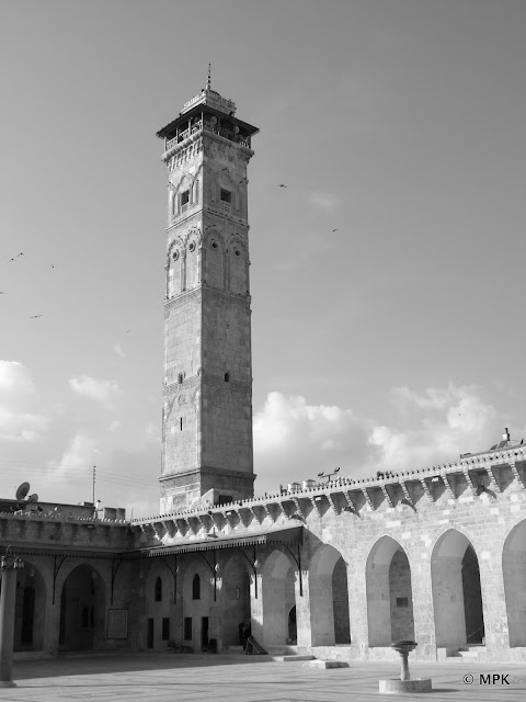 The Umayyad Mosque Of Aleppo A Lost Treasure And A Symbol For A