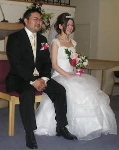 グレースと友祐の結婚式