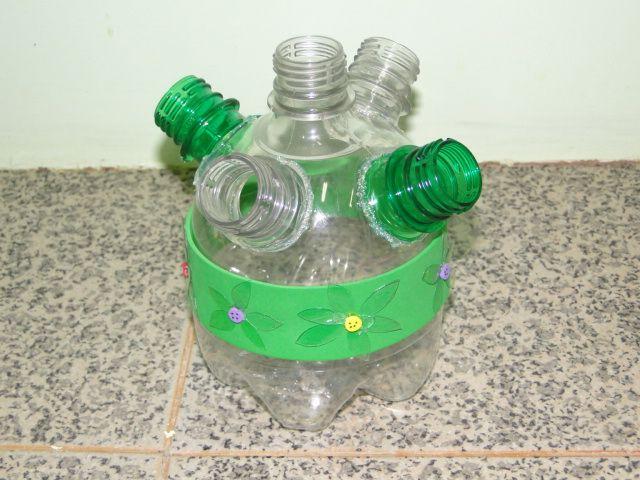 Well-known Criarte Dicas: Porta-lápis de garrafa PET CB31