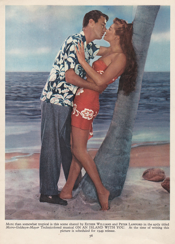 Esther Williams, Peter Lawford