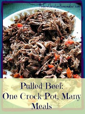 Modern Christian Homemaker: Pulled Beef