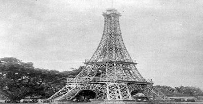 Replika Menara Eiffel Di Tasikmalaya