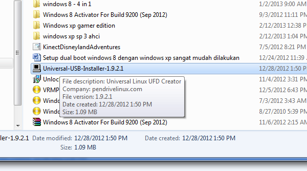 Membuat Booting Windows Dengan Usb Installer