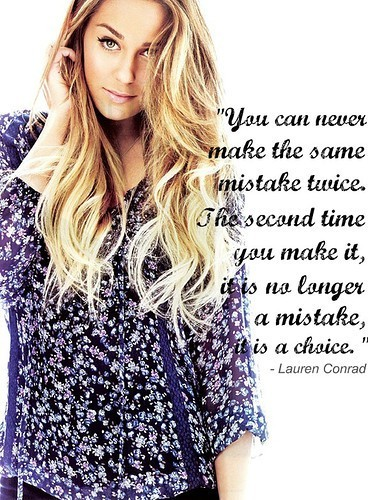 Lauren Conrad Quotes and Sayings