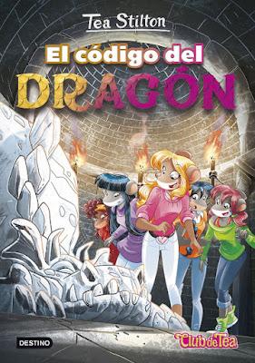 LIBRO - El código del dragón : Tea Stilton  Serie El Club de Tea #1 | Geronimo Stilton |  (Destino - 16 Febrero 2016)  LITERATURA INFANTIL & JUVENIL  A partir de 9 años | Comprar en Amazon España