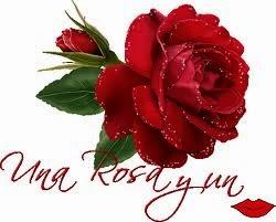 Frases De Amor: Una Rosa Y Un Beso