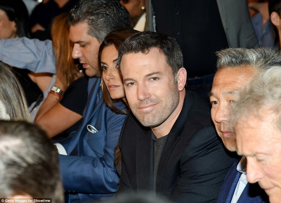 Actor and director Ben Affleck - Mayweather vs Pacquiao in Las Vegas