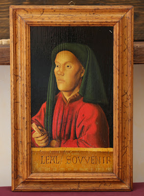 Leal Souvenir (Van Eyck) - reproduction by Marcello Barenghi