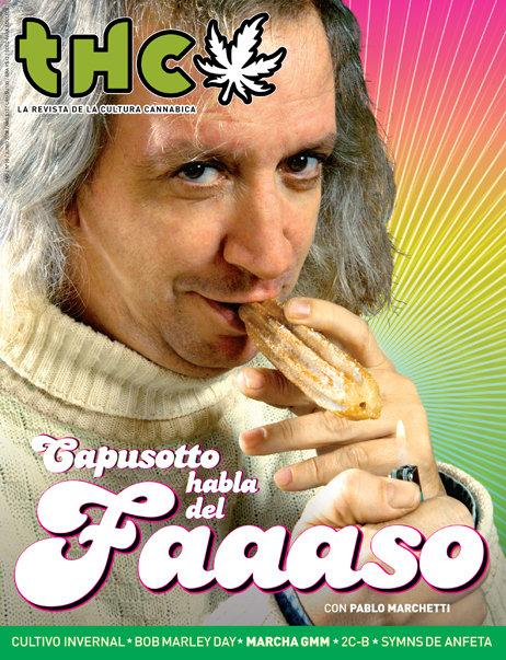 REVISTA THC Nº10 | CAPUSOTTO HABLA  DEL FAAASO