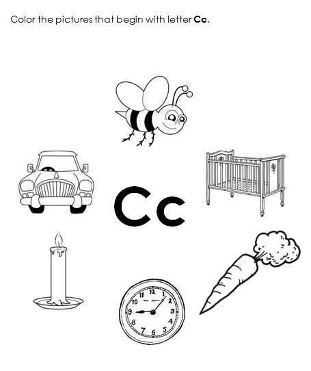 Free Worksheets » Letter C Worksheets - Free Printable Worksheets ...