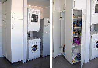 Plus ayd espacio multifuncional en la cocina - Mueble lavadora secadora ...