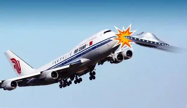 Καναδικό αεροσκάφος απέφυγε σύγκρουση με UFO!