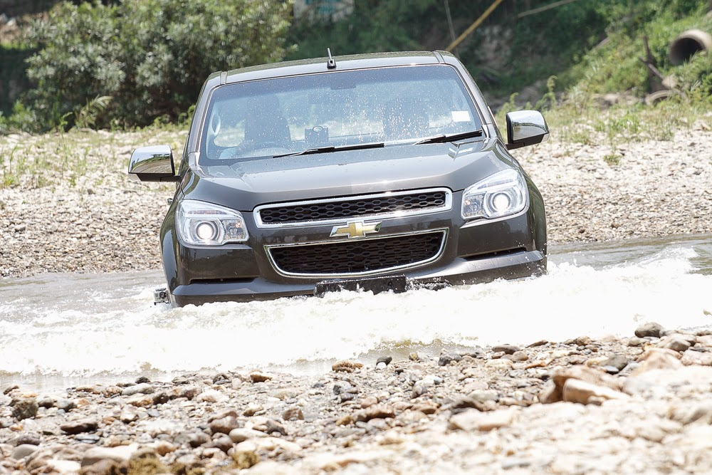 Chevrolet Colorado Excels Through Five Water Intrusion Tests