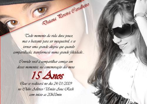 Convites 15 Anos 4