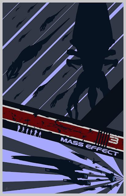 mass effect reaper poster