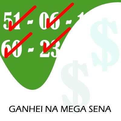 Mega Sena Dinheiro é Vendaval