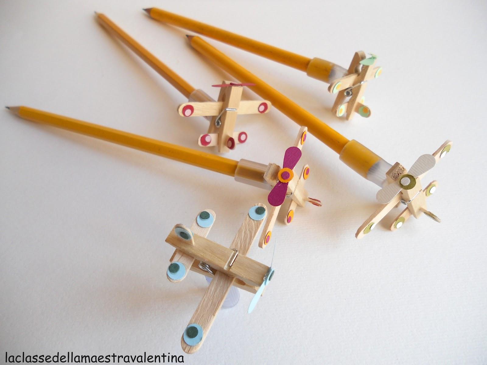 La classe della maestra valentina matite per maschietti for La classe della maestra valentina primavera