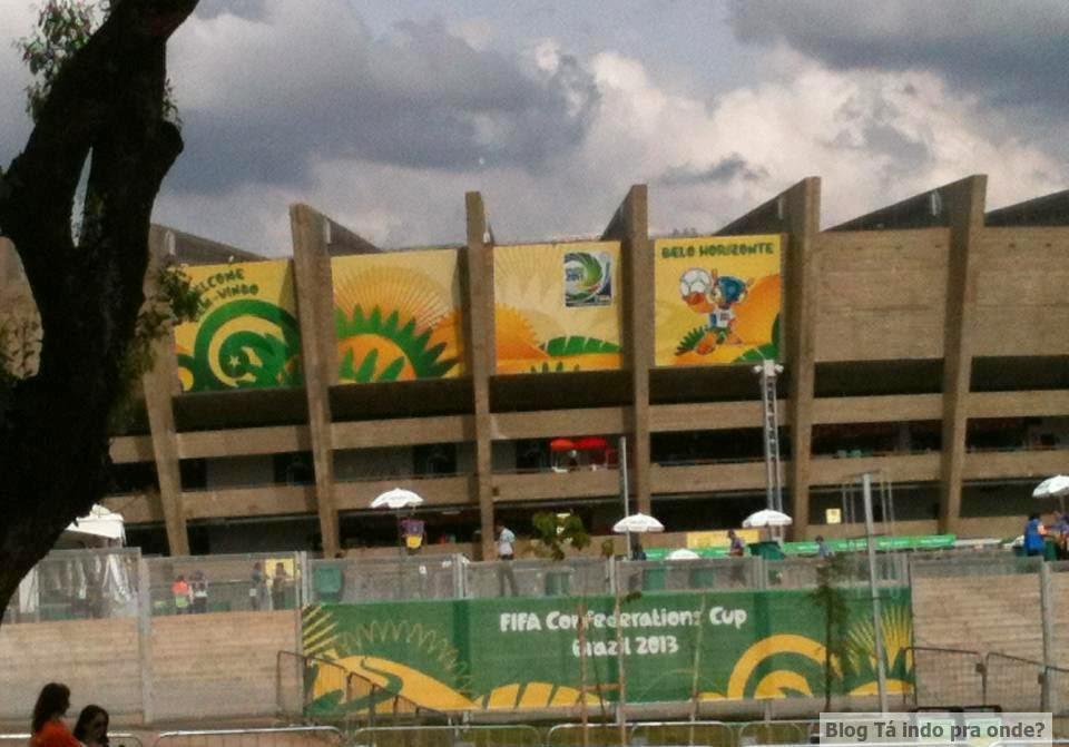 Estádio do Mineirão em Belo Horizonte