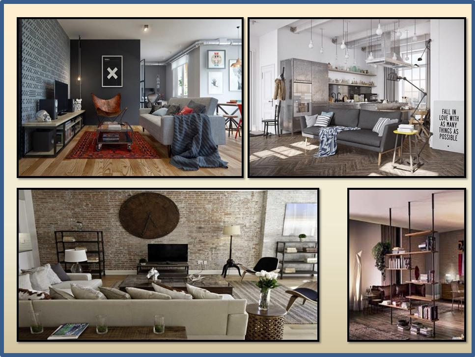 Tendenze per la casa 2016 gena design - Camera stile industriale ...
