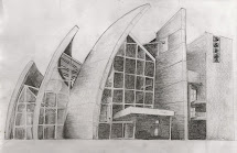Pencil Sketches Drawings for Buildings