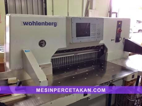 Wohlenberg 92 guillotine