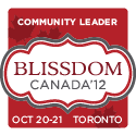 I'm speaking at BlissDom Canada!