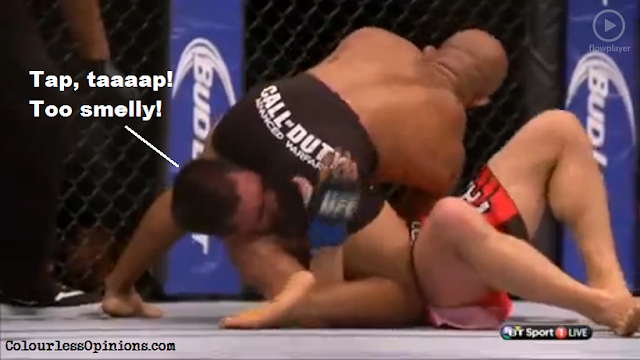 UFC 178 Johnson Cariaso meme kimura submission