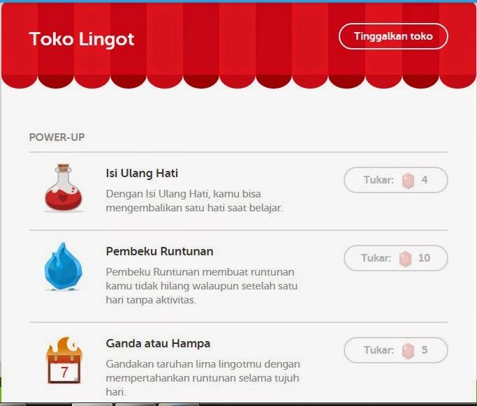 Toko Lingot, Kursus Bahasa Inggris Gratis via Online