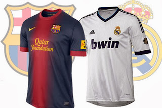 Camiseta FCBarcelona Real Madrid