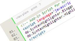 Syntax Highlighter for Blogger