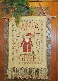 Cinnamon Stick Santa XXIV Joy-Toy-Giver  - $12.00