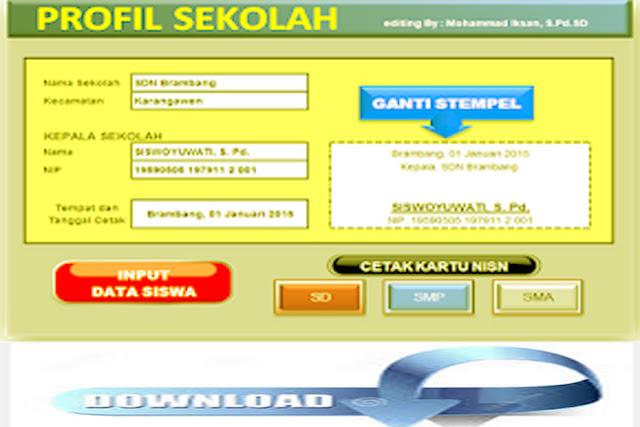 Download Aplikasi NISN SD,SMP,SMA .Rar
