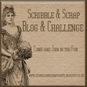 SCRIBBLE & SCRAP  CHALLENGE & BLOG