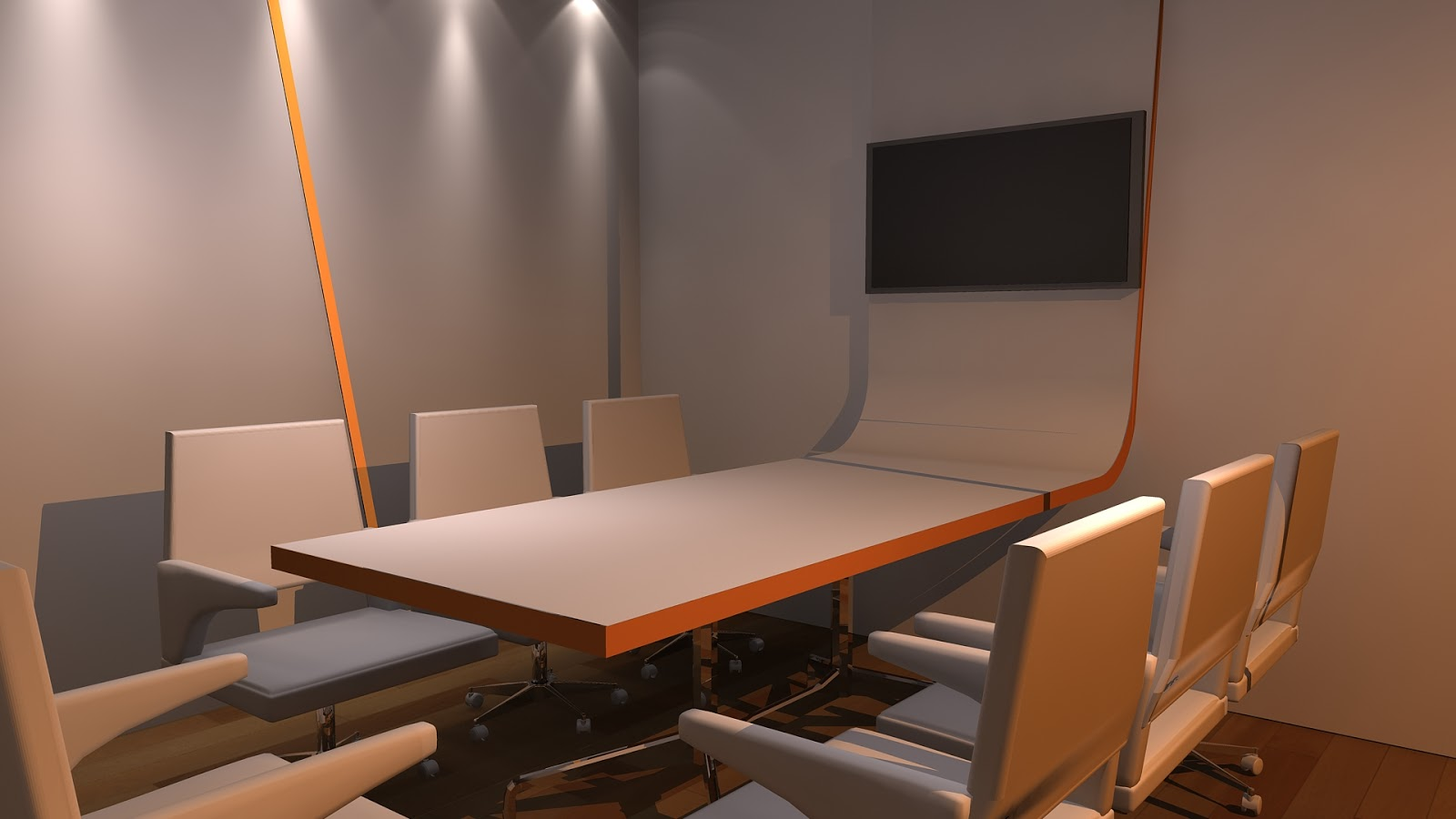 Sajid Designs interior design office 3ds max