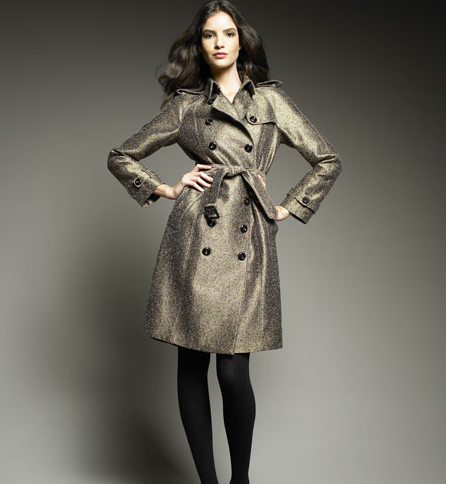how to wear burberry trench coat