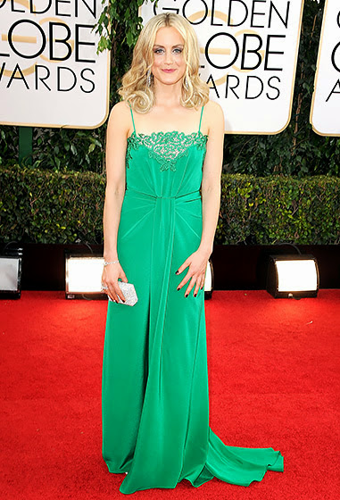 Taylor Schilling in Golden Globes 2014