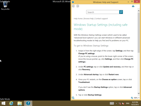 Safe Mode Pada Windows 8 Cara Untuk Masuk Safe Mode Di Windows 8 ...