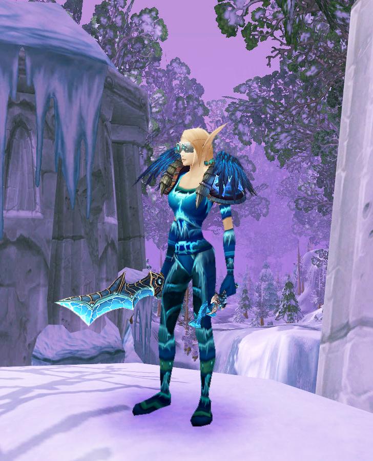 how to get icebane set