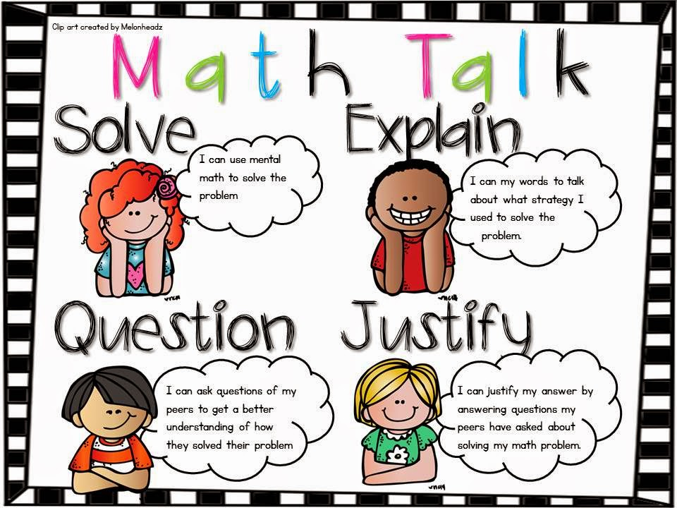 Following First Grade With Mrs. Parker: Math Talk…..The Big Math ...