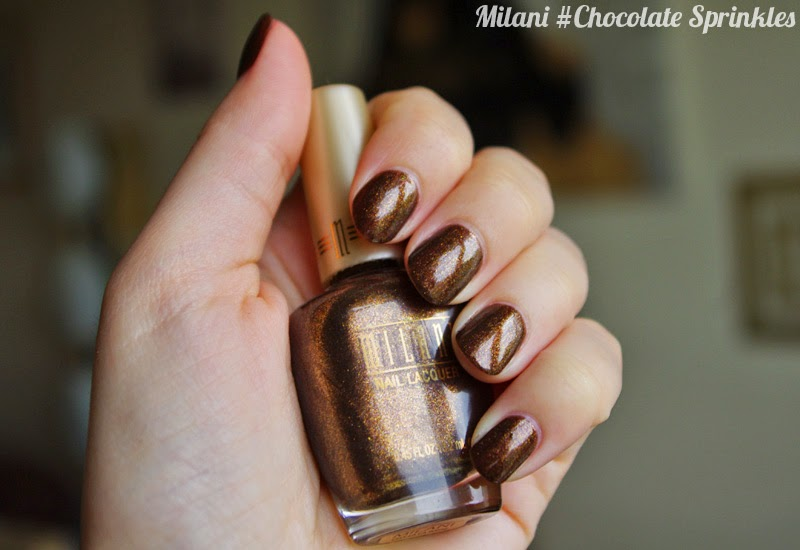 Swatches Milani Chocolate Sprinkles